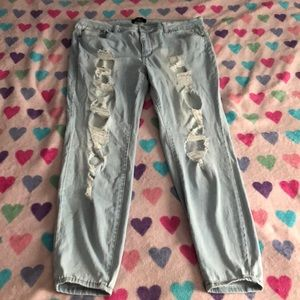 Forever 21 plus jeans